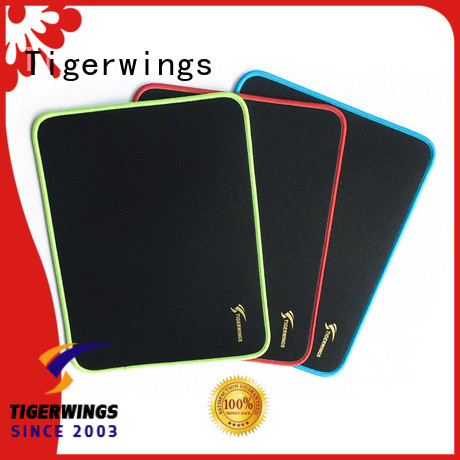 Tigerwings prevent wear custom logo mouse pad manufacturers for Play games