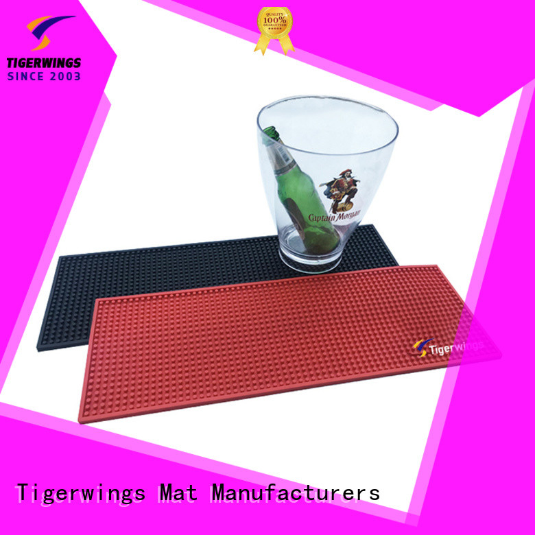 quality custom logo mats Suppliers for keep bar nice and clean