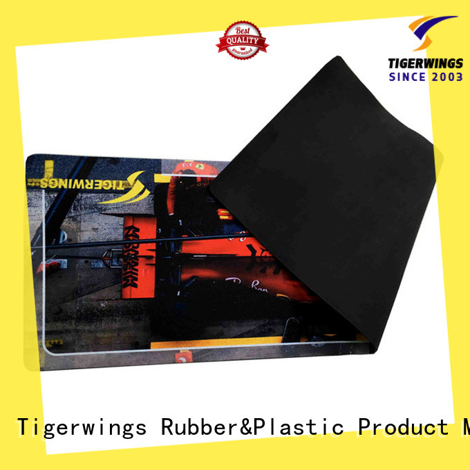 Tigerwings stain resistant gaming floor mat manufacturer for chair