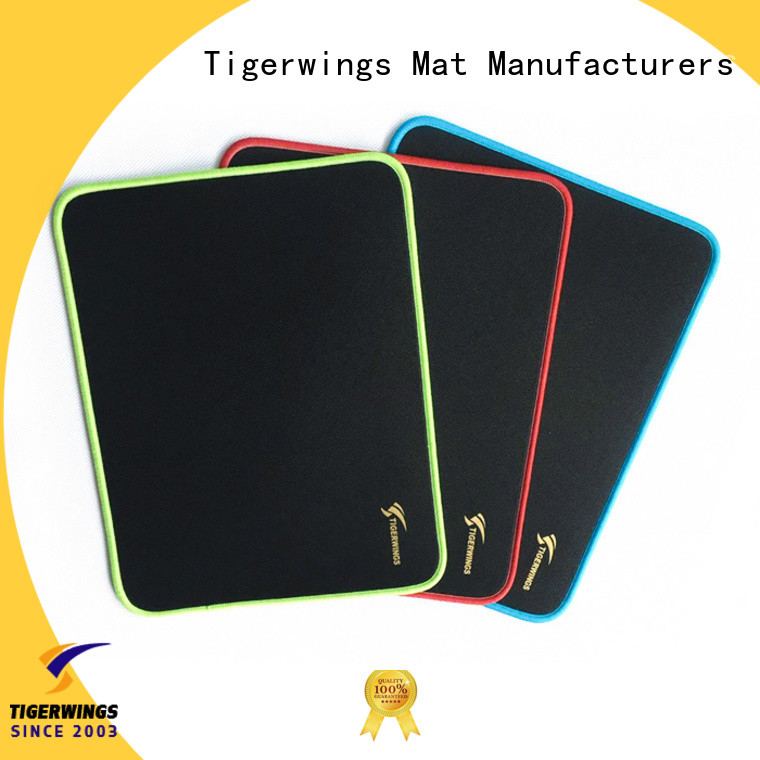 Tigerwings delicate edges stitching extended mouse mat Exporter for student