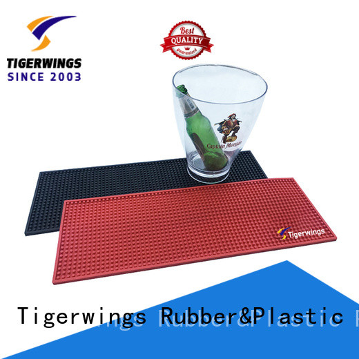 Tigerwings Best custom spill mats manufacturers for keep bar nice and clean