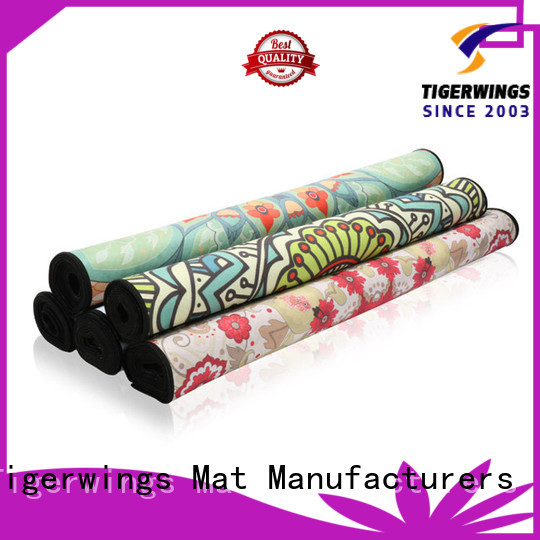 Tigerwings New best anti slip yoga mat for business for Fitness