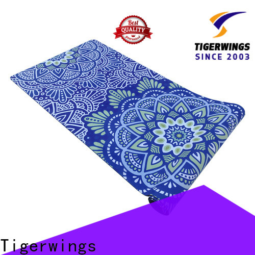 Tigerwings prevent wear custom rubber mats factory for Fitness
