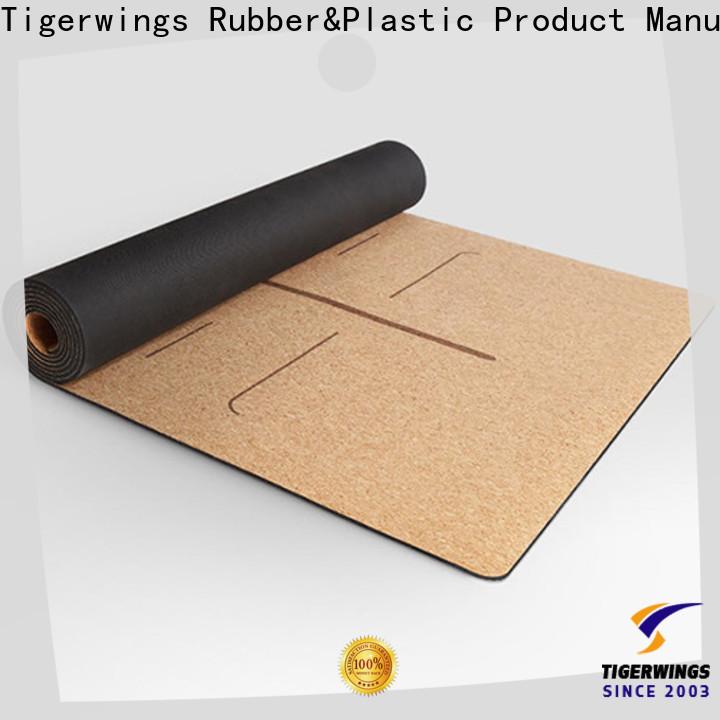 Tigerwings folding travel yoga mat OEM/ODM for Fitness
