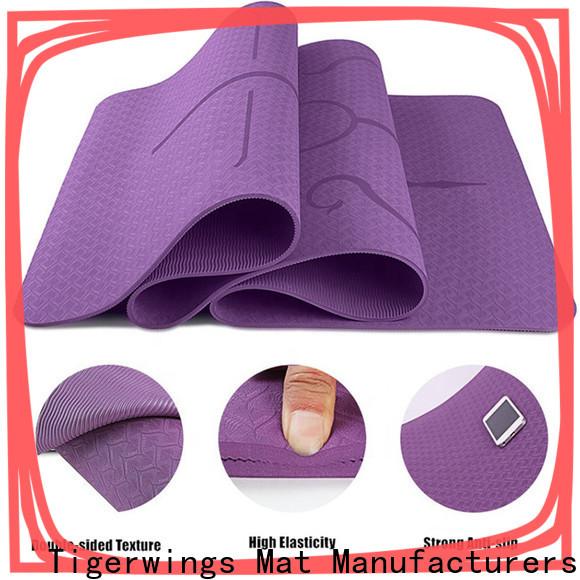 Tigerwings no deformation custom rubber mats customization for Indoor activities