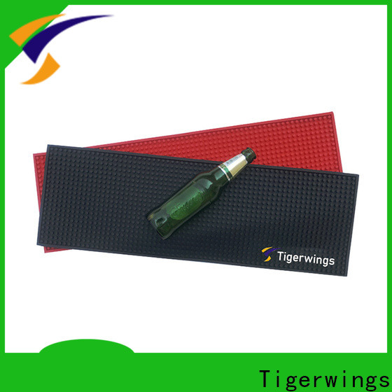 Tigerwings comfortable printed bar mats for business for keep bar nice and clean