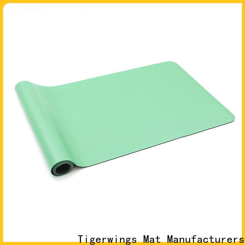 excellent skid resistance sticky yoga mat Supply for Fitness