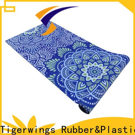 Tigerwings excellent skid resistance yoga mat 6mm price for business for Fitness