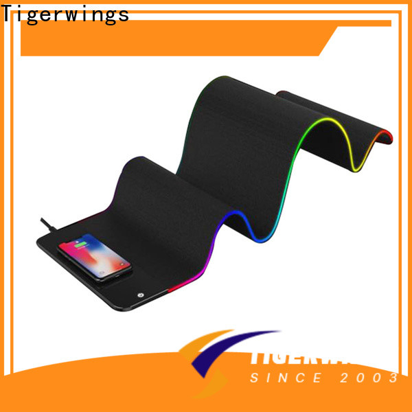 Tigerwings pink mouse pad OEM/ODM for game player