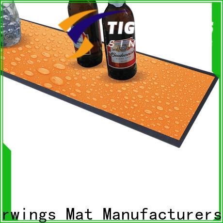 eco-friendly custom bar mats etsy company for keep bar clean