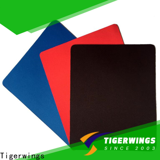 Tigerwings white rgb mouse pad OEM for Worker