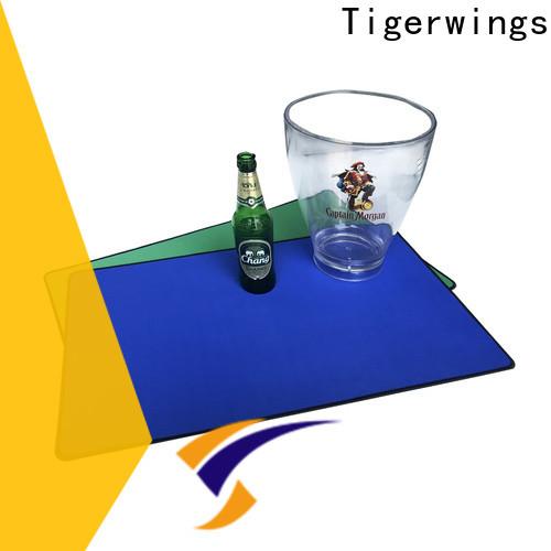 Tigerwings comfortable bar table mat for keep bar clean