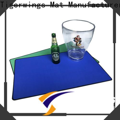 Tigerwings beer bar mats factory for keep bar clean