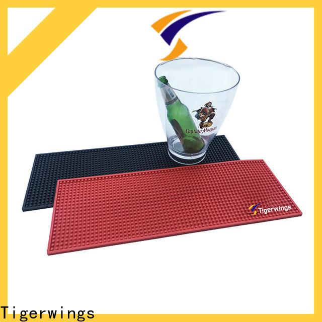 Tigerwings Anti-Skid custom bar mat factory for keep bar clean