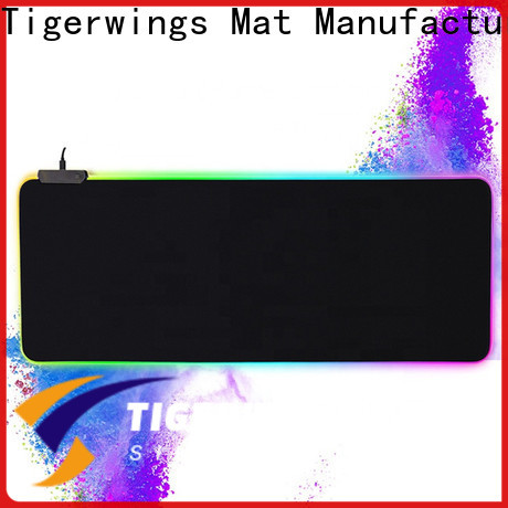 Tigerwings mouse pad maker OEM for game player