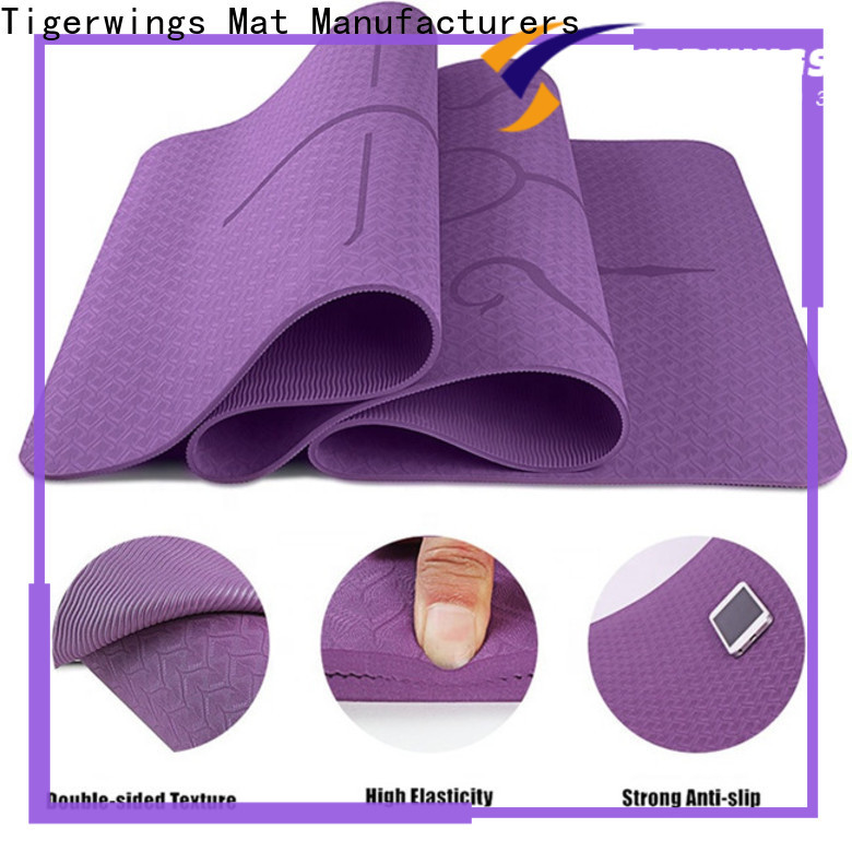 Tigerwings recycled yoga mat wholesale for Yoga