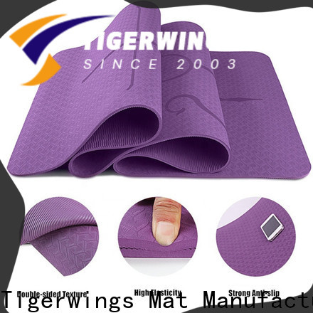 Tigerwings best workout mat factory for meditation