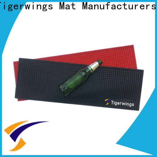 Custom rubber bar mats manufacturers for keep bar nice