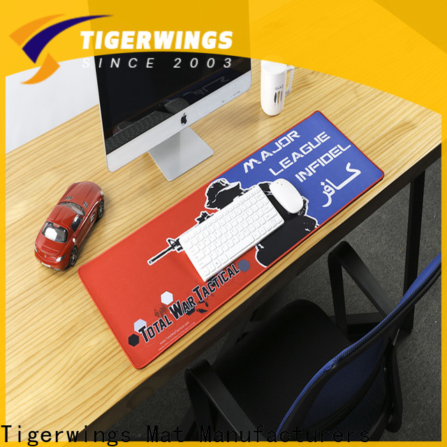 Tigerwings Bulk buy high quality marvel mouse pad manufacturer for student