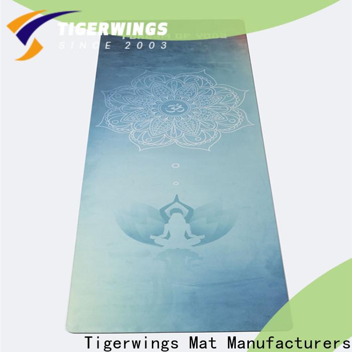 Tigerwings biodegradable yoga mat Supply for Yogi