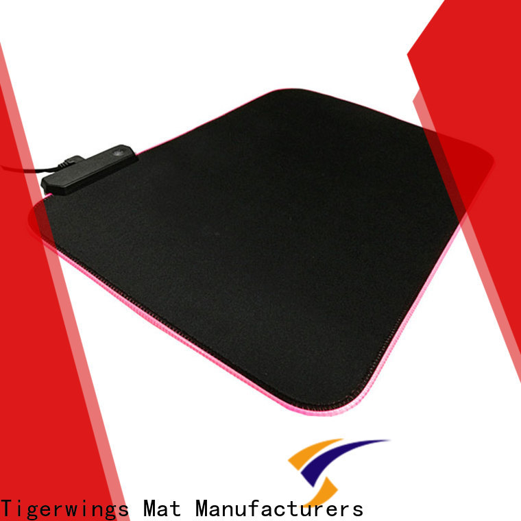 Top pink gaming mouse pad wholesale for Play games