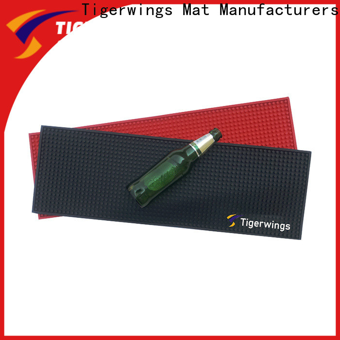 Tigerwings Custom OEM drink mats for bar wholesale for keep bar clean