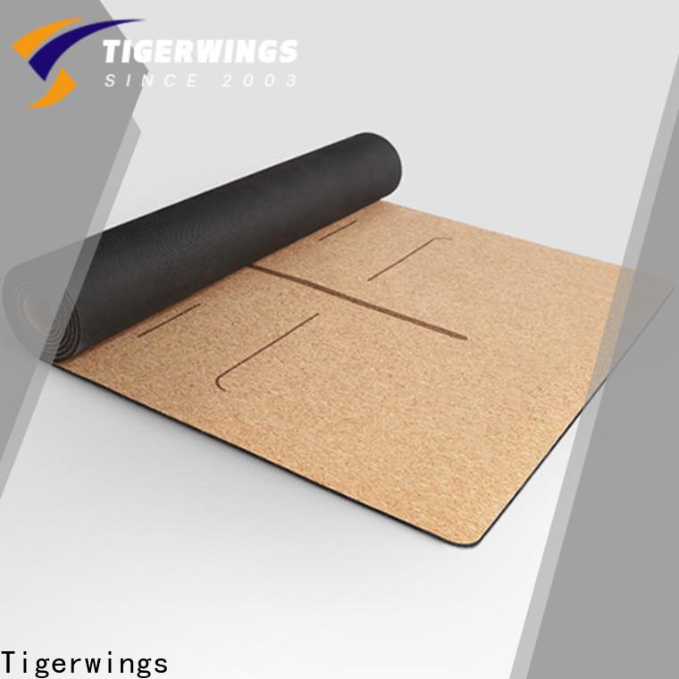 Custom best double yoga mat factory for Indoor activities