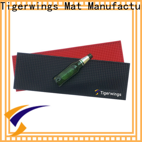 Tigerwings cloth bar mats for business for Bar counter