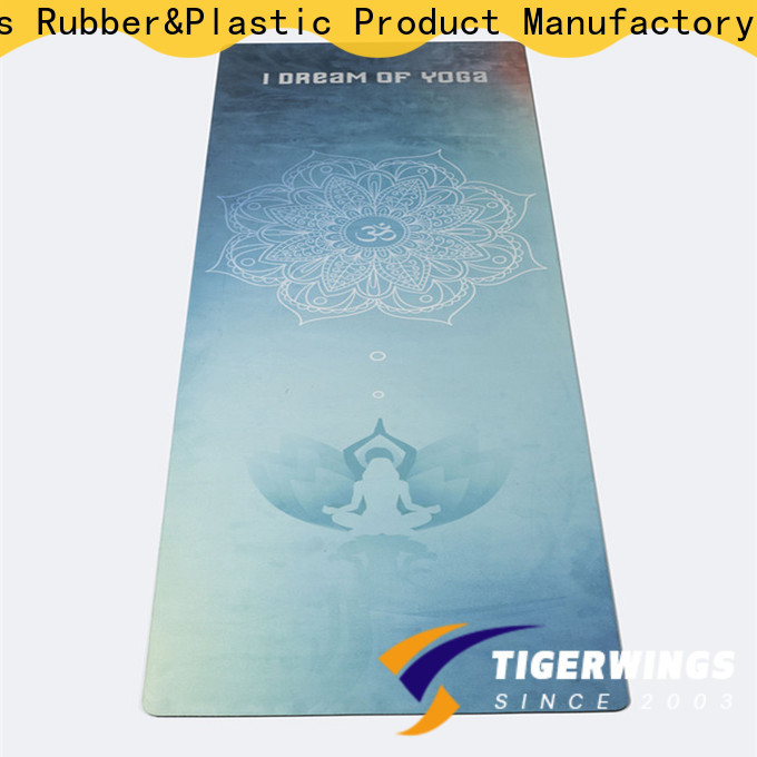 High-quality customizable yoga mats manufacturers for Fitness