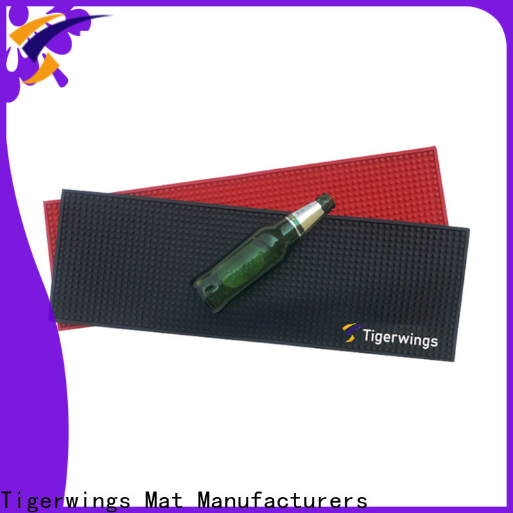 Tigerwings extra long bar mats company for keep bar clean