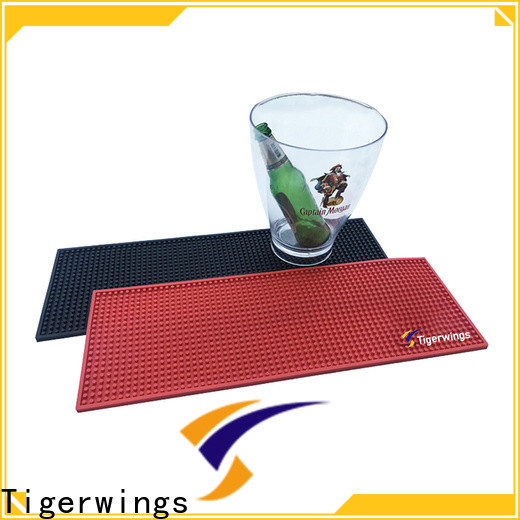 Tigerwings personalised bar runner and mats supplier for keep bar clean