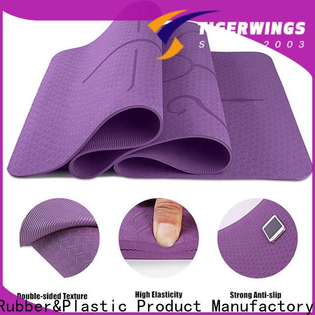 Tigerwings grey yoga mat Suppliers for Indoor activities