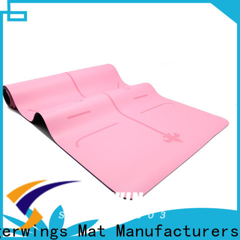 eco-friendly characteristics fitness mats for sale Supply for Sportsman