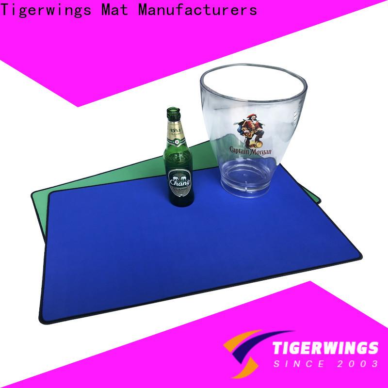 Tigerwings cocktail bar mat OEM for keep bar nice