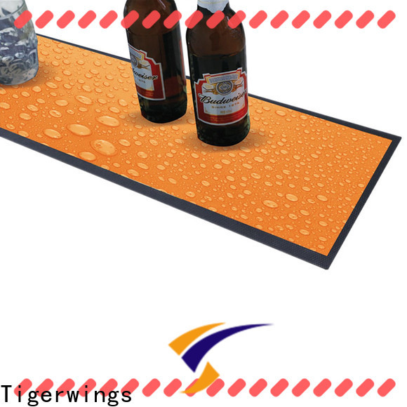 Tigerwings rubber mat manufacturer factory for keep bar nice and clean