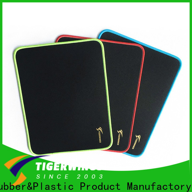 Tigerwings white rgb mouse pad China for student