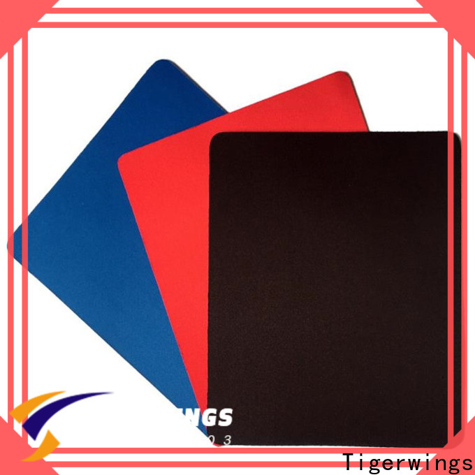 Tigerwings High-quality white rgb mouse pad company for jobs