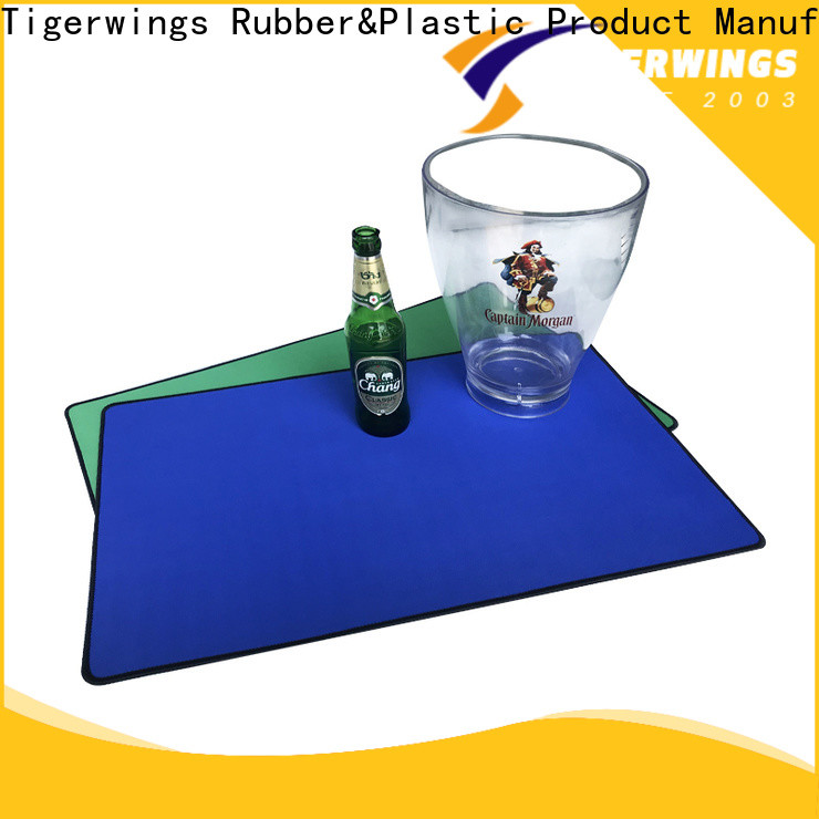 Tigerwings bar mats and runners manufacturers for bar
