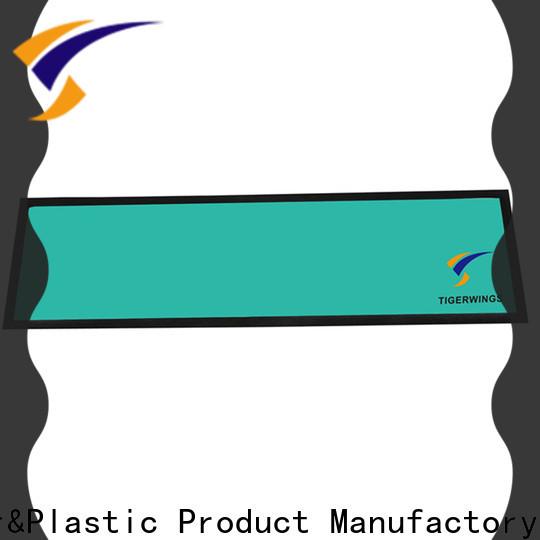 Tigerwings square bar mat factory for keep bar nice