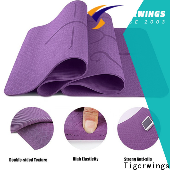 Portable foldable yoga mat company for Fitness