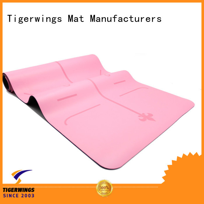 Tigerwings eco friendly yoga mat manufacturer ODM for Fitness