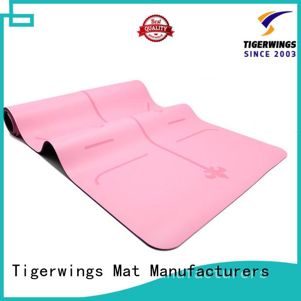 Tigerwings custom yoga mats wholesale customization for Sportsman