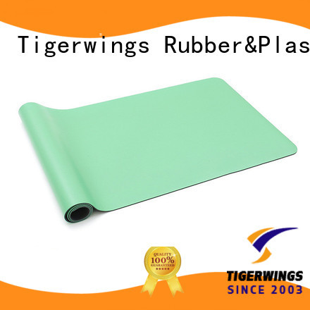Tigerwings excellent skid resistance yoga mat workout China for meditation