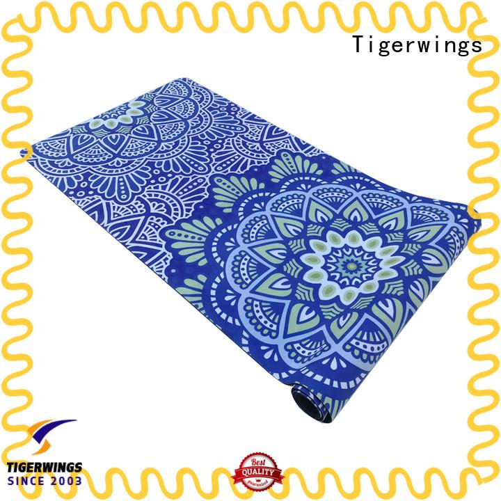 prevent wear rubber mat factory customization for meditation