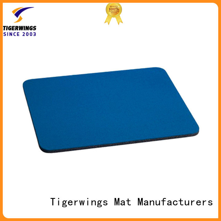 Tigerwings Heavy duty anti-slip rubber backing mouse pad mat for business for jobs