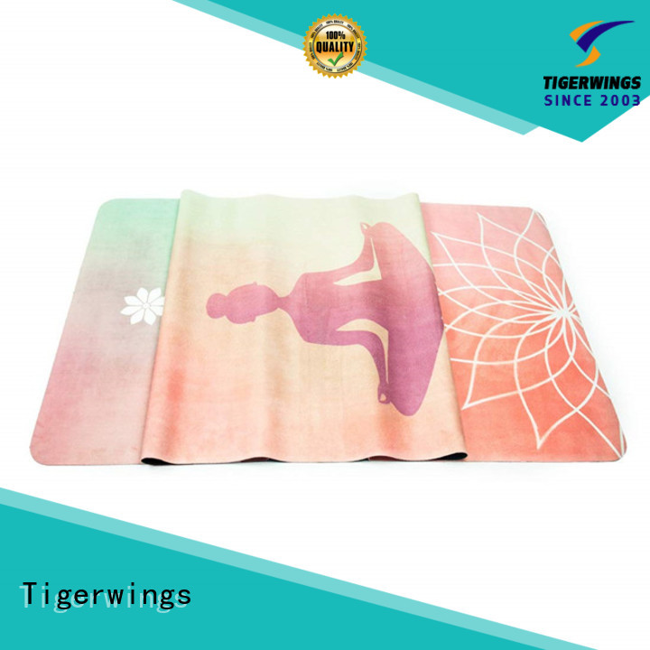 Tigerwings excellent skid resistance wholesale eco yoga mats for business for Yogi