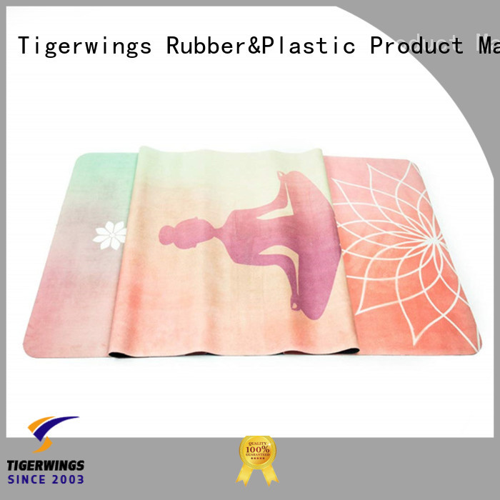 Tigerwings eco-friendly characteristics eco friendly exercise mat factory for meditation
